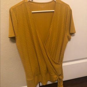 Loft yellow top.